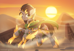 Desert Warrior by RedchetGreen