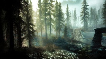 Everlasting Dawn II - Skyrim by WatchTheSkies45