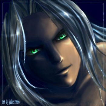Green Eyes Hypnotize by joulee