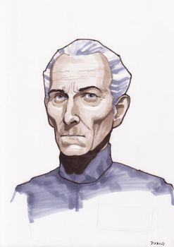 Grand Moff Tarkin by Darko-Stojanovic-Art