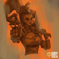 Overwatch: The Queen of Junkertown by iurypadilha