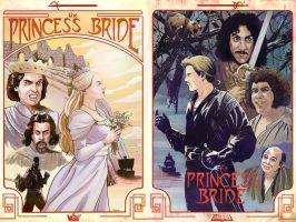 Princess Bride posters by TylerChampion