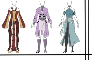 Adoptables outfit set 16 CLOSED by HardyDytonia