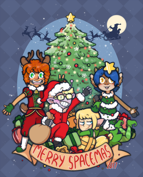 Spacemas 2017 by DarkChibiShadow