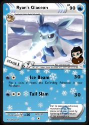 Ryan's Glaceon by DBurch01