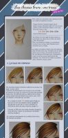 Copic Ciao tutorial Tresse brune en francais by maxicarry