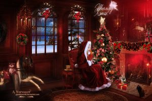 Merry Christmas by annemaria48