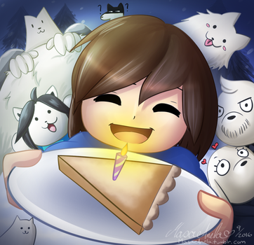 Happy Birthday Undertale by Masae