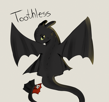 Toothless by Mya-0