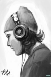 Headphone Guy by vihena