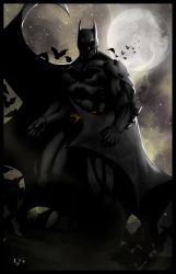 The Dark Knight by ErikVonLehmann