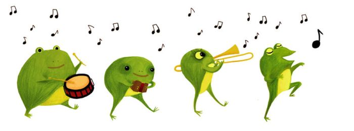 Frog band by RozennB