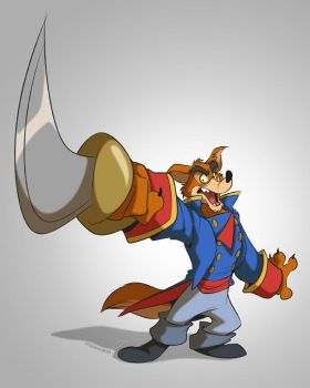 Commission:  Don Karnage by zillabean