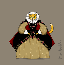 Royal Kitty by watermonster