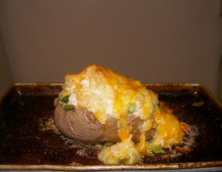 Salmon Twice Baked Potatoe by DavisJes