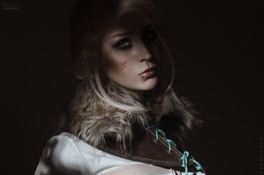The Witcher 3: Wild hunt - Ciri by ver1sa