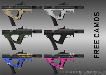 Personal Defense Mini with Camo Variations [FREE] by DeRezzurektion