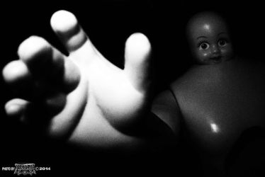 Reaching-baby-face by 1CONOCLA5T