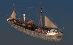 Fishing Trawler 1920 View 1 by eRe4s3r