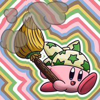 Kirby 2018: Cleaning Kirby by thegamingdrawer