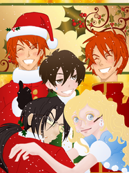 A Harry Potter Christmas by Weasley-Detectives