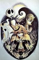 Kingdom Hearts Halloween by Sugar360