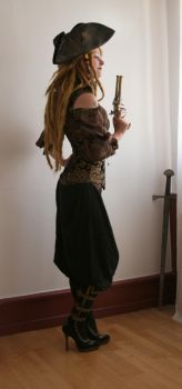 Pirates - Barbarian Queen 3 by mizzd-stock