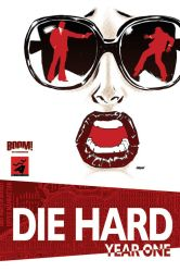 Die Hard Year One cover 2 by Devilpig