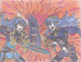 Battle of the Brave, Lucina by Willanator93