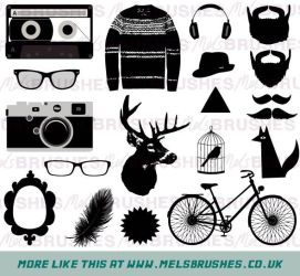 Hipster Graphics by melemel