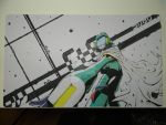 Custom Playmat: Canti (Fooly Cooly FLCL)