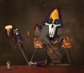 Contest Entry - Yo Ho Ho And A Bottle Of Grog by UnnaturalFox