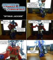 The Transformers - Optimus Jackson by SturmvogelPrime