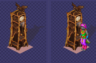 Free 32bit Patch: Carved Wood Grandfather Clock by james-talon
