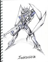 Soundwave TFP by winddragon24