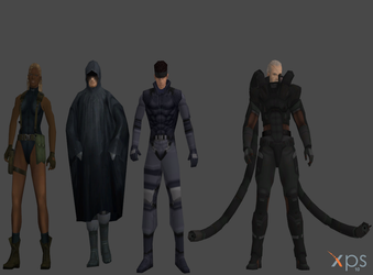 MGS2 static Models pack 2 by SOLIDCAL
