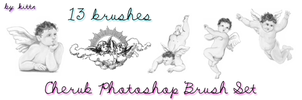 Cherub Brushes for Photoshop by punkdoutkittn