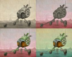 bender trike colour 2 by LaughtonMcCry