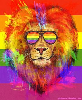 The Pride Lion by GLPing