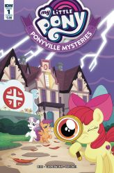 My Little Pony Ponyville Mysteries #1 Cover by Phil-Crash-Murphy