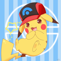 pikachu sinnoh by jirachicute28