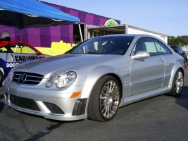 Benz CLK63 AMG Black Series by Partywave