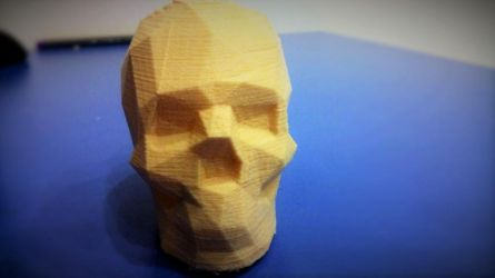 Low Poly Human Skull by PsychoPath10