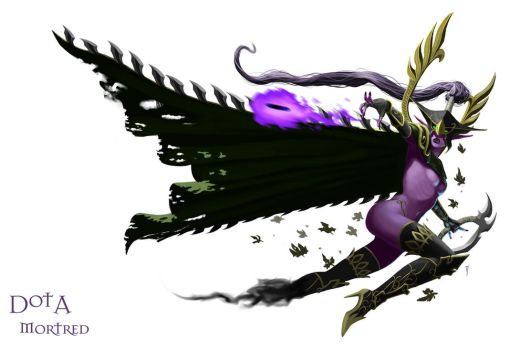 The Phantom Assassin: Mortred by TeaInK