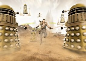 Wrath of the Dalek Killer by ginovanta