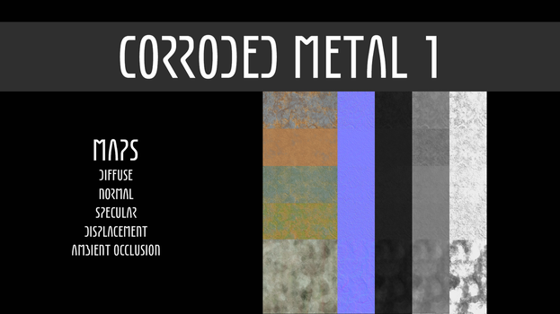 Corroded Metal - Pack 1 by TexasFunk101