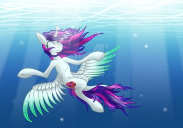 Underwater Peace by DiScOrSaUrUs