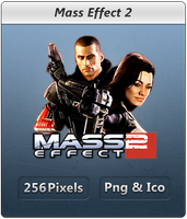 Mass Effect 2 - Icon 2 by Crussong