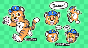 Timber the Tiger by raizy