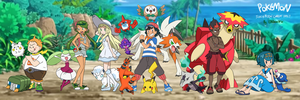 Pokemon Sun and Moon Family - CURRENT MEMBERS 2